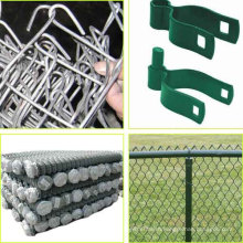 Basketball court galvanized pvc coated chain link fence price