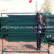 Low Price Used PVC Coated Canada Outdoor Fence Temporary Fence