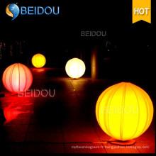 Ballon publicitaire géant personnalisé Trépied gonflable Montage au sol Ballons à LED