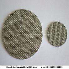 Malla de filtro sinterizada de acero inoxidable