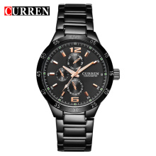 Luxury Stainless Steel Band Men's Quartz Watch