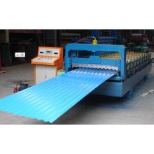 Máquina formadora de rolos de telha esmaltada de chapa de aço galvanizado