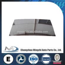 BUS PARTS sheet glass prices mirror/ glass price m2 / Mirror Glass 420*250MM*3MM,CHROME,R1800 HC-M-3105