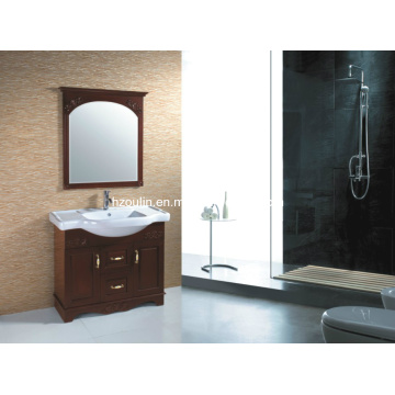 Ancient Solid Wood Bathroom Vanity (1813)