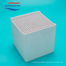 Honeycombs ceramic for heater gas accumulator 150*150*100mm