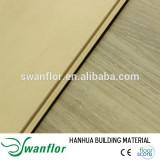 2015 European Design 7mm Indoor Wood Plastic Composite WPC Vinyl Flooring with Cork Back