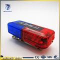portable waterproof lithium batteries warning shoulder lamp