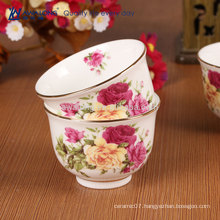 Chinese Traditional Style Tea pot porcelain tea / coffee cup saucer