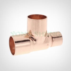 Copper Fitting  Reducer Tee