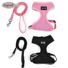 Walking Dog Cat Leash Breashable Air Mesh Nylon Cat Harness