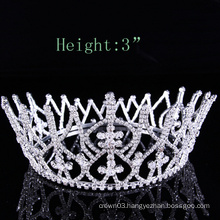Ladies rhinestone crown pageant tiaras