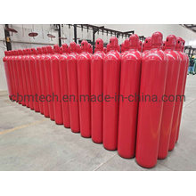 80L Firefighting Steel Gas Cylinders Filling CO2 Gas