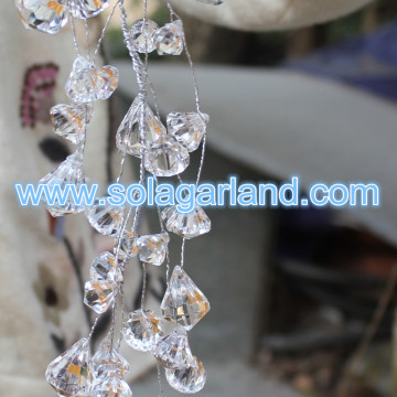 Cuentas de Crystal Crystal Bead Garland Artificial Crystal