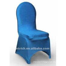 couverture de chaise de banquet, couverture de chaise de lycra, CTS809 turquoise, adapté pour toutes les chaises