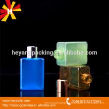Botella de 150 ml de PET cuadrado para champú / loción