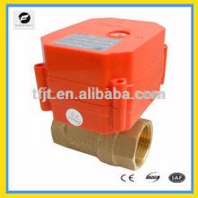Válvula de actuador DC5V de torque súper pequeño y más grande con 6Nm para control de flujo de agua y desconexión