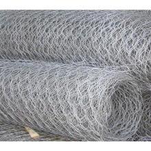 Roulent la fabrication hexagonale de maille de fil de PVC