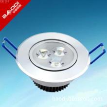 3w 6000K 210lm 40,000h LED ceiling light, CLASS A , CE ROHS