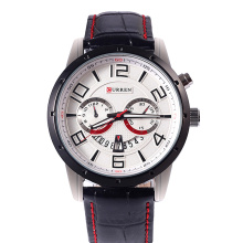 CURREN Leather Band Wrist Watch atacadista