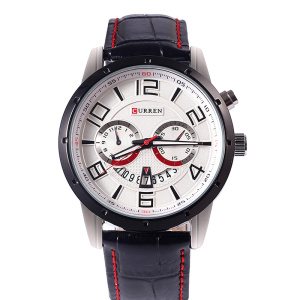 CURREN Leather Band Wrist Watch bán sỉ