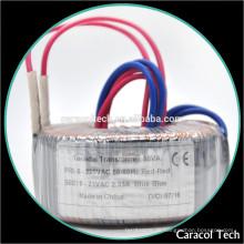 24V Spulenstruktur und einphasiger elektronischer Ringkerntransformator mit Wickelmaschinen-Preis
