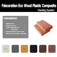 Eco Wood Plastic Composite Decking WPC Flooring
