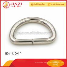 original design 25.5mm wide iron D ring