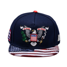 Custom 6 Panel 3D Embroidery Snapback Hat