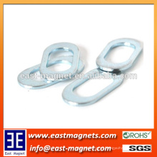 annular ellipse shape neodymium magnet for sale/custom hollow out rare earth magnet