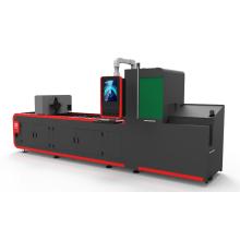 Machine de découpe laser à fibre de tube métallique