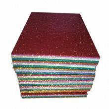 Glitter EVA Sheets, Measures 20 x 30cm, Good Material of DIY Accessories for Children