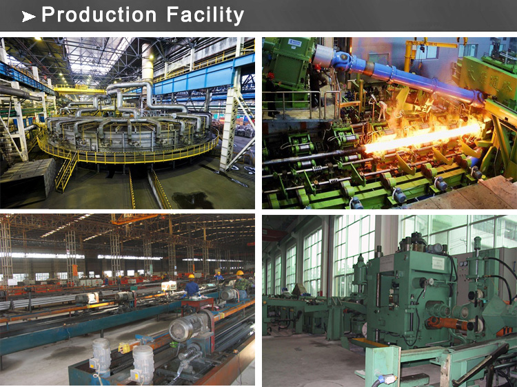 cold drawn steel pipe production facility