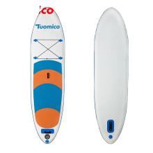 SUNGOOLE Sea Beach Classic Surfboard California USA Style 20's Single Fin Paddle SUP Round Float Board