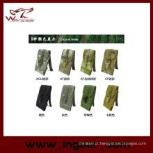 Nylon celular bolsa militar telefone bolsa bolsas tamanho L