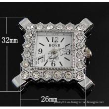 Gets.com aleación de cinc cordura correa de reloj 22 mm