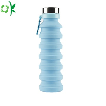 Hot Sale Portable Silicone Foldbar Flaska för resor