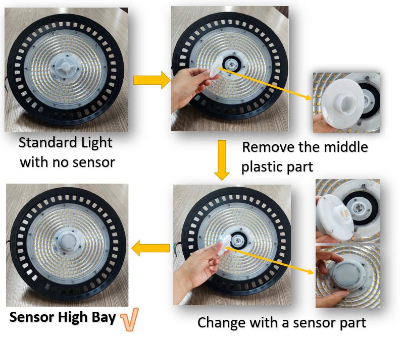 6 Diy Sensor High Bay