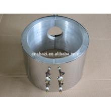 Fundido de aluminio líquido refrigerado líquido en calentador