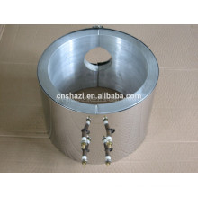 electric liquid cooled aluminum cast in heater