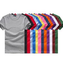 Wholesale 2017 Men Plain T-Shirts Cotton Round Neck Cheap T-Shirts