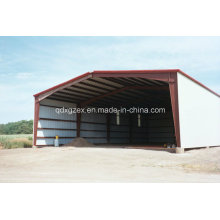 Steel Frame Building, Warehouse Shed (SS-15259)