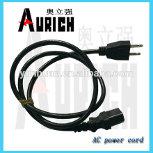 UL 125v Standrad PVc PVC Power Cable