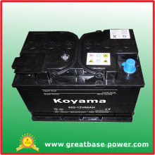 652-12V66ah Dry Cell Battery Auto Battery