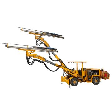 Foreuse de dynamitage hydraulique à double bras