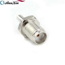 Preço de fábrica SMA Para CRC9 Conector Fêmea