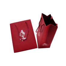 Cartão de estampagem de folha personalizada Saco de compras de papel Saco de papel