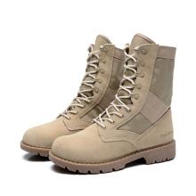 Herren Leder Militär Boot Combat Ankle Boots