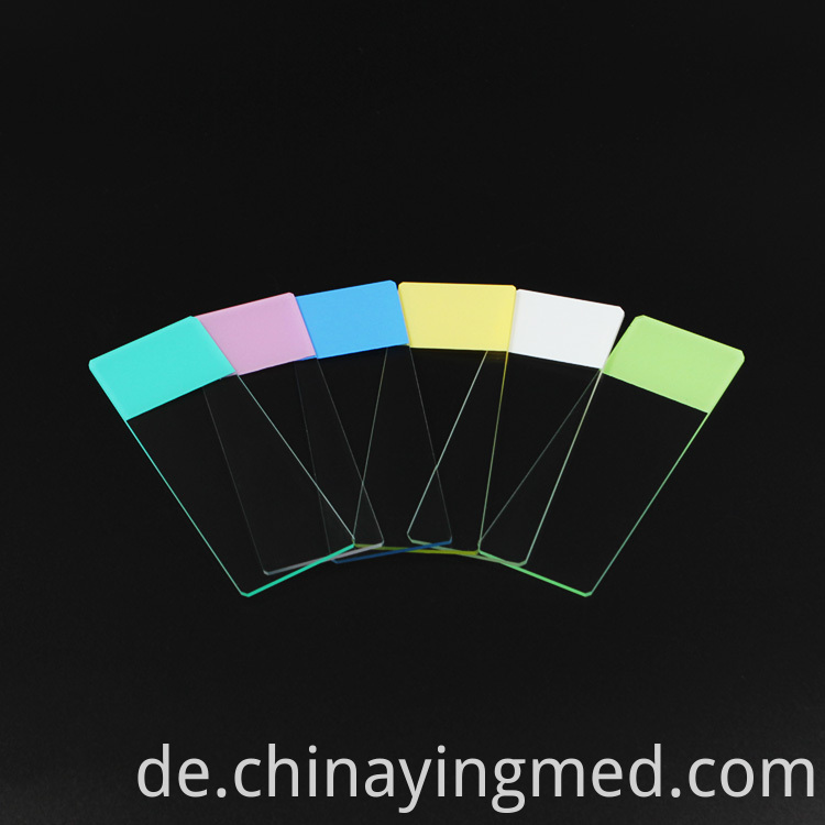 Color Microscope Slide