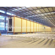 Línea de producción automática de pulverización