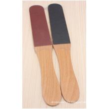 Wooden Feet Flat File, Dead Skin Rub Feet Skin